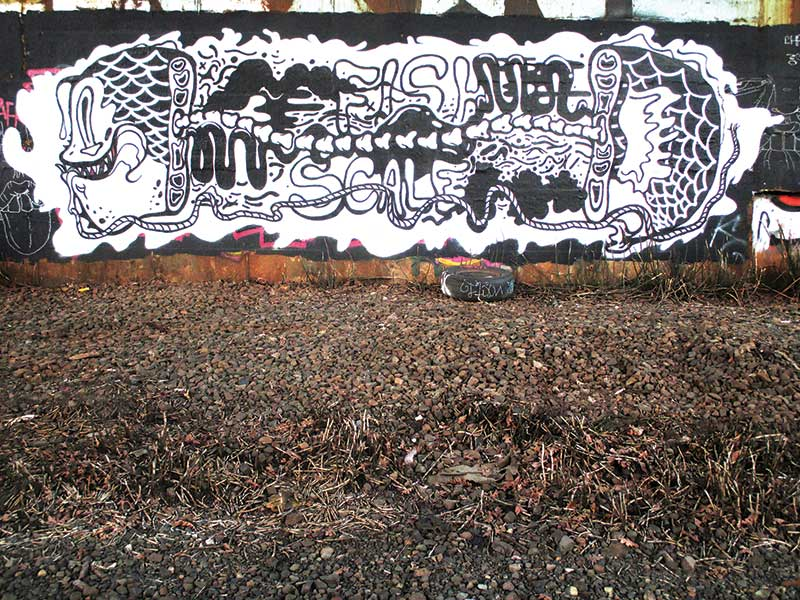 Portland Street Art Graffiti Book - Oregon - Preview 3